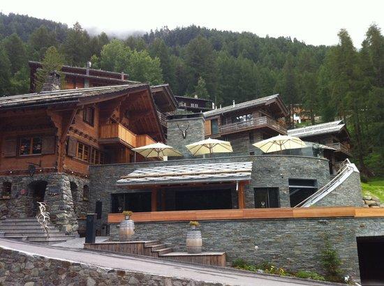 CERVO Zermatt: Hotel's view