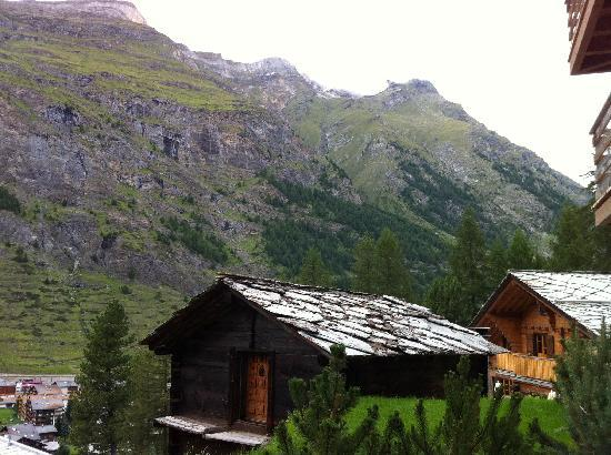 CERVO Zermatt: View from the whirlpool