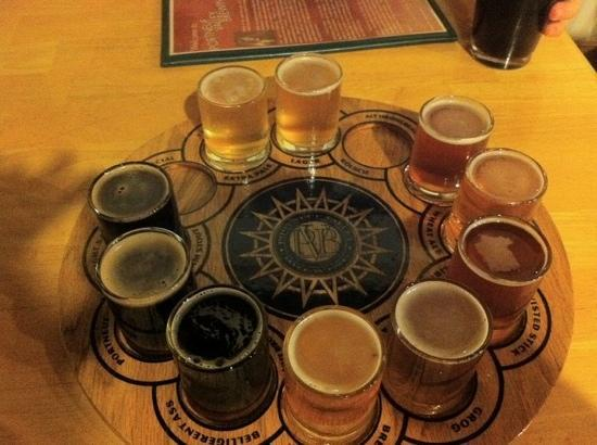 Portneuf Valley Brewing : The sampler.