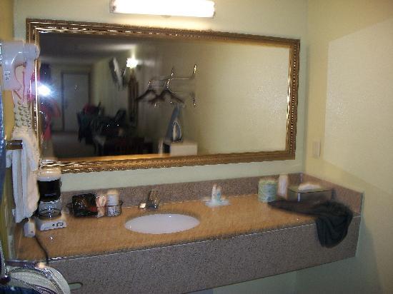 Rodeway Inn Memphis: vanity area