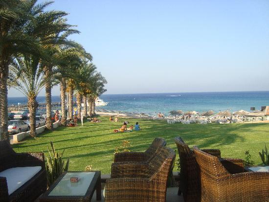 SunConnect Protaras Beach - Golden Star Hotel: View from hotel restaurant