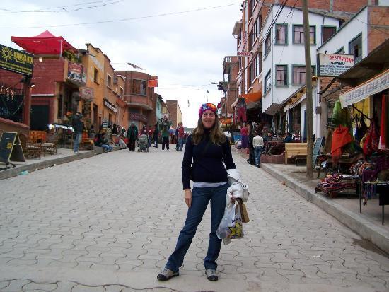 Copacabana, Bolívia: el centro