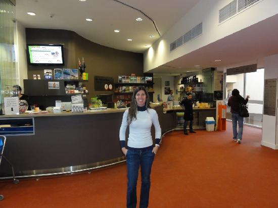Sydney Harbour YHA: la recepcion