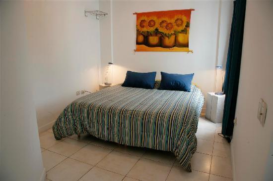 Modigliani Art & Design Suites Mendoza: Zona dormitorio