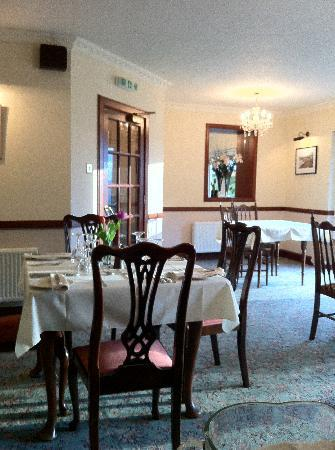 Kinkell House Hotel: a view of the restaurant