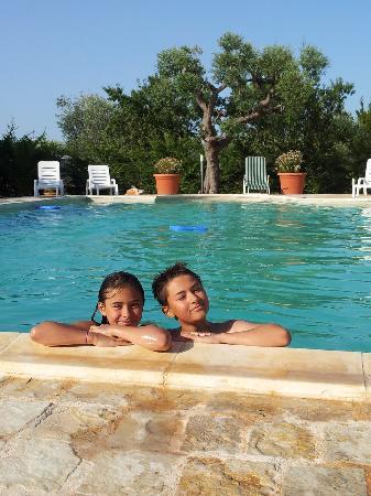 Masseria Cesarina / the pool