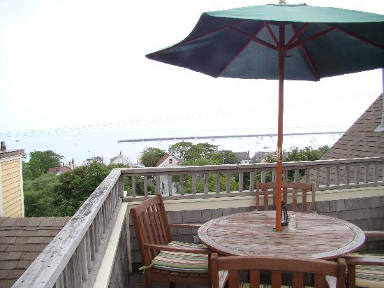 Aerie House & Beach Club: Our private deck