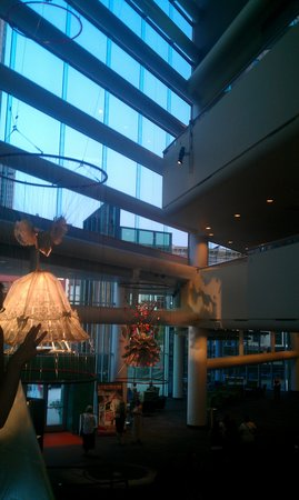 The Kentucky Center and Brown Theatre : Lobby of the Kentucky Center forPerforming Arts