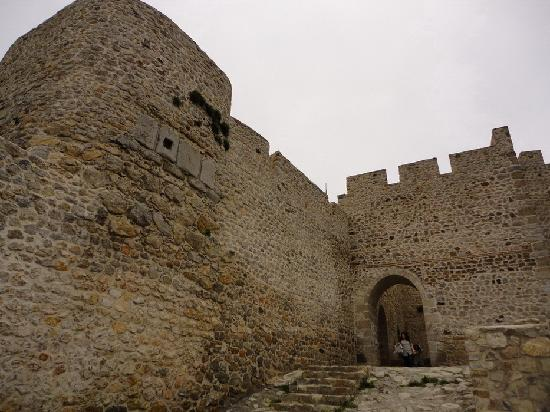 Amasya, Turkiet: Castle entrance