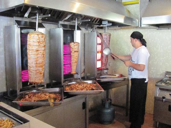 Rixos Premium Belek: doner kabab - Farshad