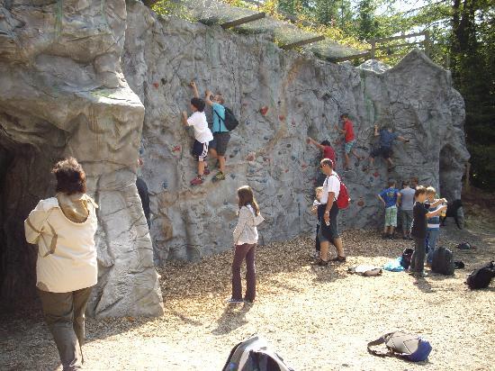 Sankt Englmar, Alemanha: Kletterwand
