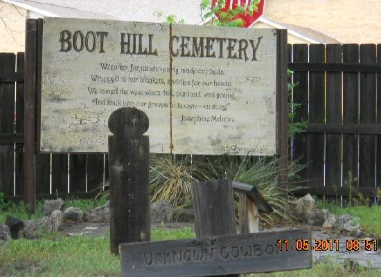 Boot Hill Museum: boot hill