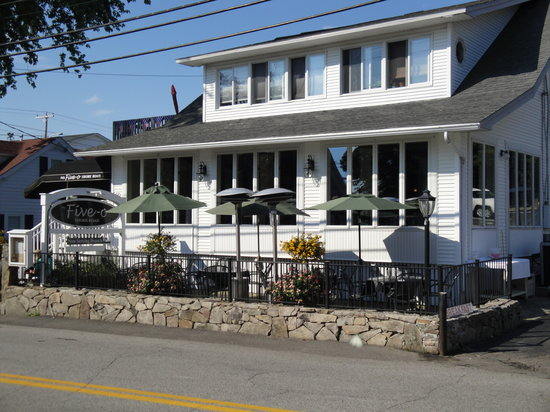 Five-O Shore Road : Breakfast Priced Right