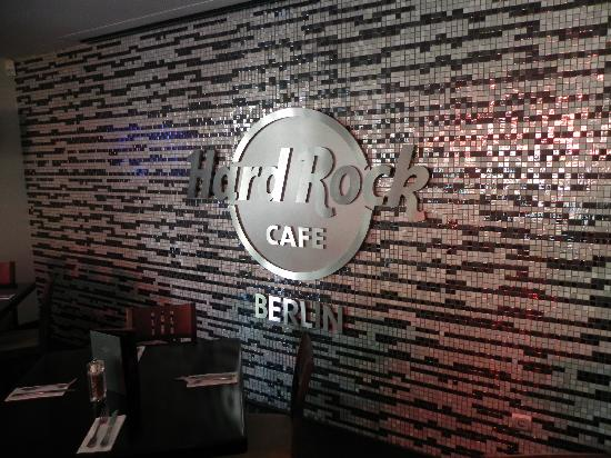 Berlin Hard Rock Cafe - Logo on Wall - Picture of Hard ...