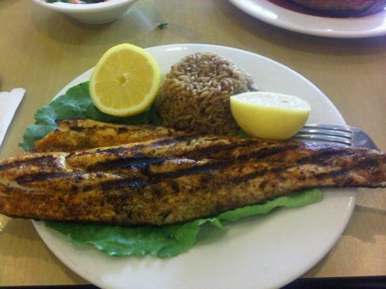 Cafe Lili: fabulous redfish
