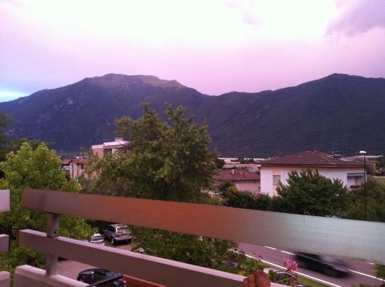 Hotel Campagnola: View from room.