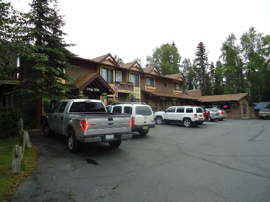 Alaska Fishing Lodge - Soldotna Bed and Breakfast Lodge : Front
