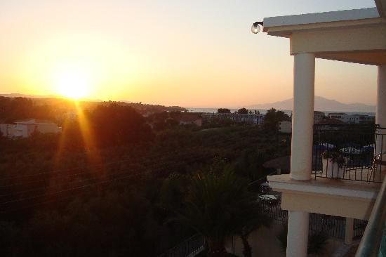 Zante Star: Sunset from our room