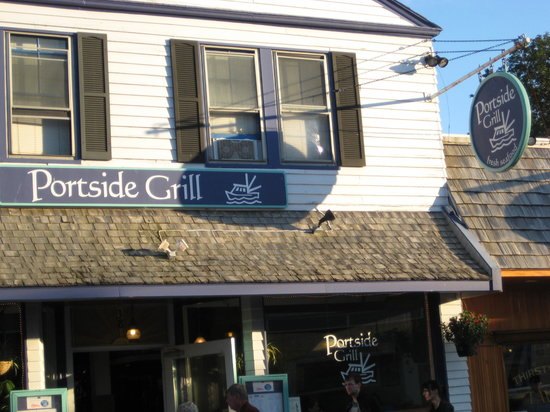 Portside Grill: Not really portside, but...
