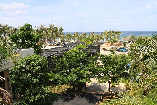 Silver Shores International Resort: view from 3rd floor  bar area