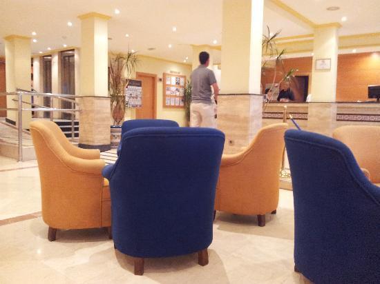 Las Arenas Hotel: Lobby (reception)