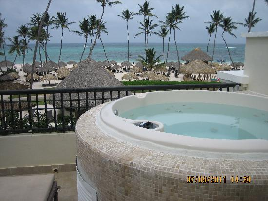 Now Larimar Punta Cana: View from room
