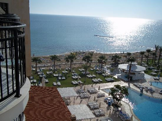 Constantinos the Great Beach Hotel: View from bedroom