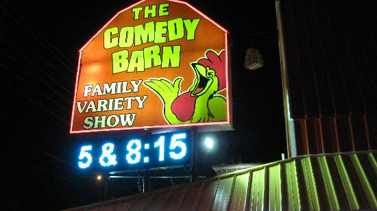 Comedy Barn: Outside picture