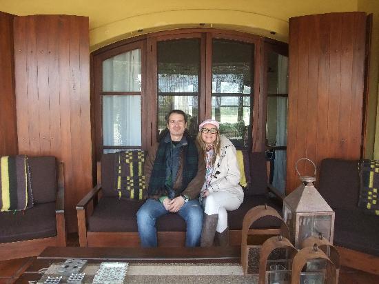 Casa Los Jazmines: ótimos espacos internos e externos, para leitura, descanso, relax