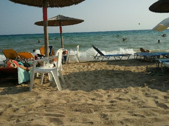 Dionisiou Beach, Greece: The Beach