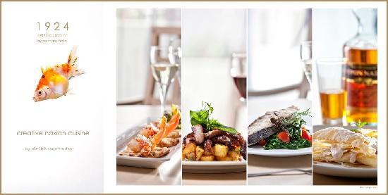 1924 restaurant | lagos mare hotel | creative naxian cuisine by dimitris skarmoutsos