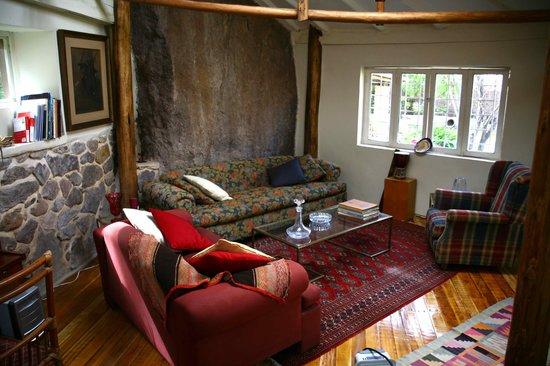 La Casa Del Conde: sitting room