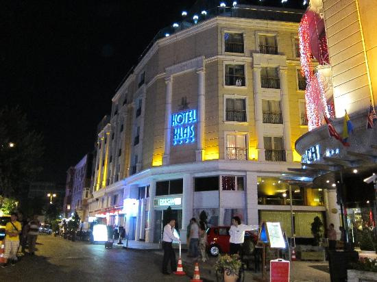 Vue de face picture of klas hotel istanbul tripadvisor for Hotels in istanbul laleli