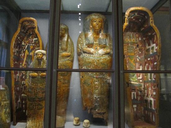 พิพิธภัณฑ์ประวัติศาสตร์คุนสท์: Mummies