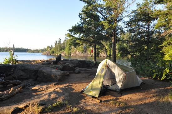 Boundary Waters Canoe Area Wilderness: All campsites have been tastefully chosen with expansive lakeviews