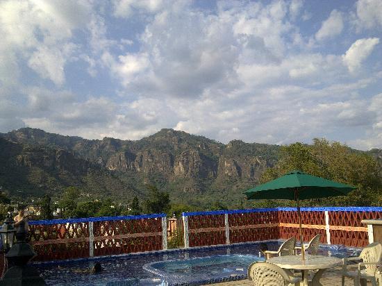 Hotel Spa Mi Pueblito: vista desde la terraza del hotel