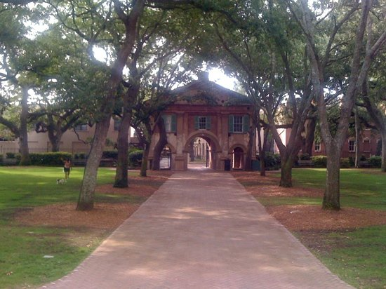 Gate at the College of Charleston