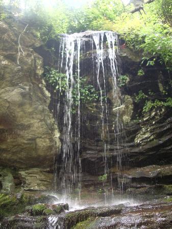 Danbury, Carolina del Norte: A waterfall