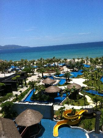 Silver Shores International Resort: The view from my great balcony