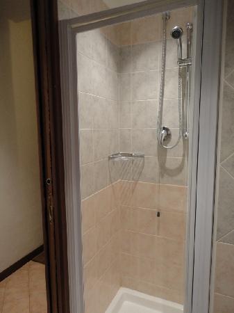 Hotel Hermitage: Shower