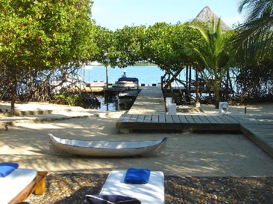 Agua Bed & Breakfast - Baru Island: Common area