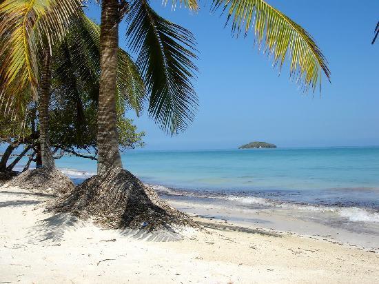 Agua Bed & Breakfast - Baru Island: Beach close by
