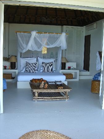 Agua Bed & Breakfast - Baru Island: Bedroom