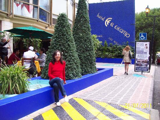 Hotel El Ejecutivo: Felices en este lugar