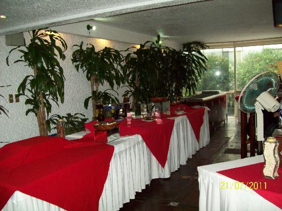 Hotel El Ejecutivo: Un restaurante de lujo