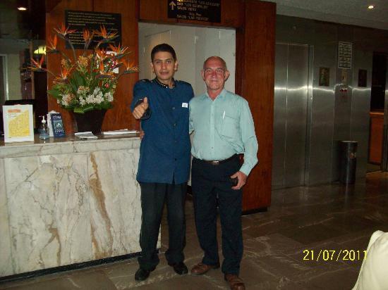 Hotel El Ejecutivo: Destacable la calidez humana