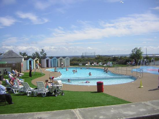 Berwick upon Tweed, UK: outdoor pool