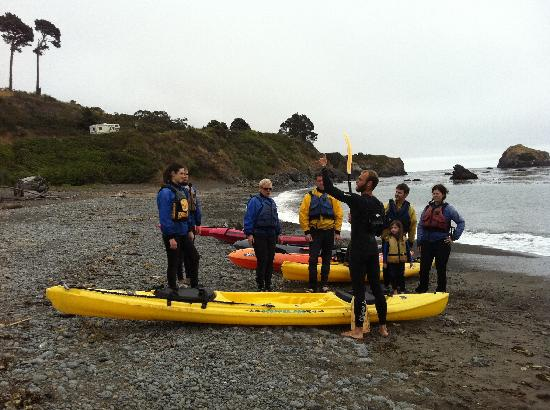 Kayak Mendocino: Instructions from the guide