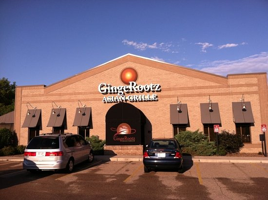 Gingerootz Asian Grille: main entrance