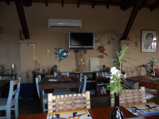 Posada Casa Mejillon: Area comedor - Estar